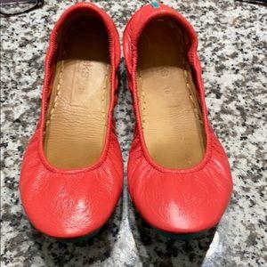 Limited Edition Poppy Tieks size 10